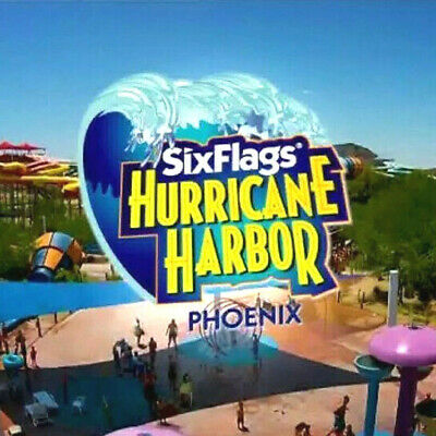 Six Flags Hurricane Harbor Phoenix Tickets $25 & Season Pass Promo Discount Tool