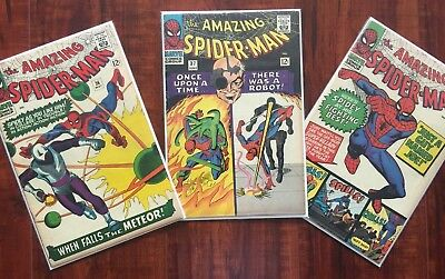 Comics-The Amazing Spider-Man Silver Age 3 Pack