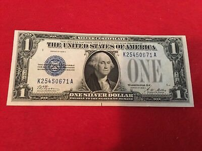 1928 A  $1 Silver Certificate Funny Back