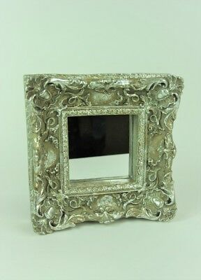 Wall Mirror Ornate French Style Antique Silver Champagne Deep Wall Mirror