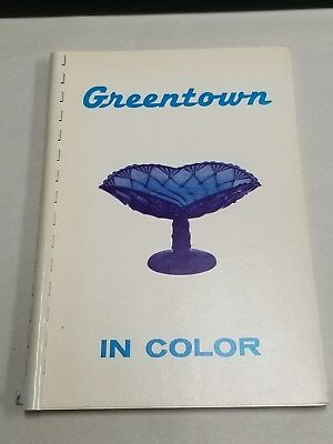 Greentown in Color Softcover Book 1970 Vintage Price Guide Collector Glass SC