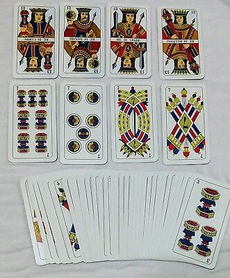 Italian Scopa Playing Cards by Modiano No. 99/25