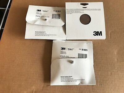 "ONE 3M Stikit Disc Pad 81821, 5"" x 3/4"" x 5/16-24 EXT, Brand New"