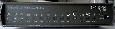 Options by IBM Multitech Systems MT2834BLG Data Fax Modem