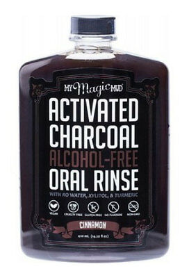 My Magic Mud Charcoal Oral Rinse Cinnamon 420ml