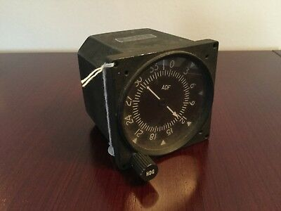 "Flugzeug Bordinstrument NDB Indicator ""RMI"" Aircraft Instrument Borduhr NDB"