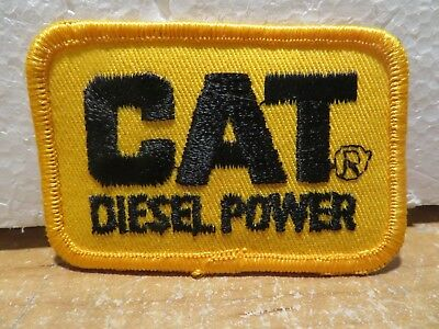 Cat Diesel Power Patch New Mint condition Hat Patch Free Shipping