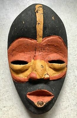 Vintage Primative Small Tribal Wooden Mask