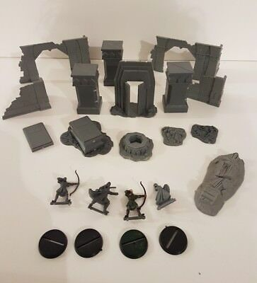 Games workshop lord of the rings mines of moria scenery bits