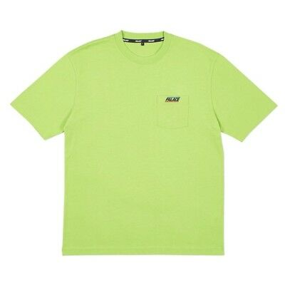 1a10c054 Palace Basically A Pocket T-Shirt Lime Green Size Large - Spring Summer 2018
