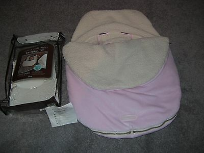 J J Cole Collections Bundle Me Plush Inner Shearling Thermaplush Pink Liner