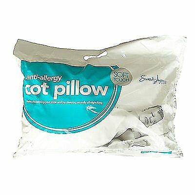 ANTI ALLERGY BABY TODDLER COT BED 4.5 TOG PILLOW NURSERY JUNIOR By T&Z