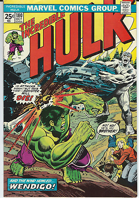 The Incredible Hulk #180 - 1st App. Wolverine - Key Issue - Very High Grade