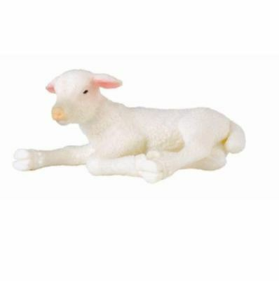 New Collecta Lamb Looking Back Co88392 Animals Replica Sculpted Action Figures Other Action Figures
