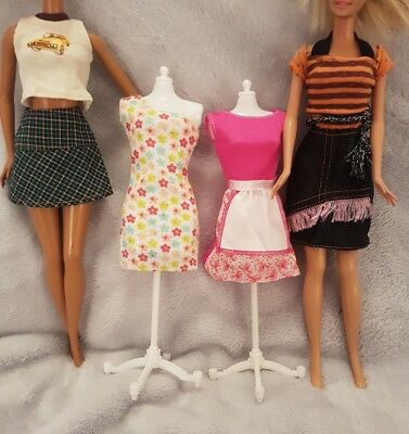 Barbie Clothes for barbie doll  x4outfits  and x4 sets of shoes         lot 4