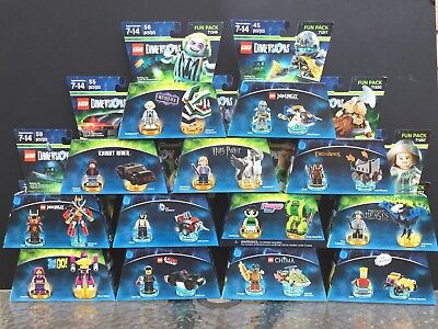 Lego Dimensions Fun Pack Team Pack Various Characters - You Choose - Brand New