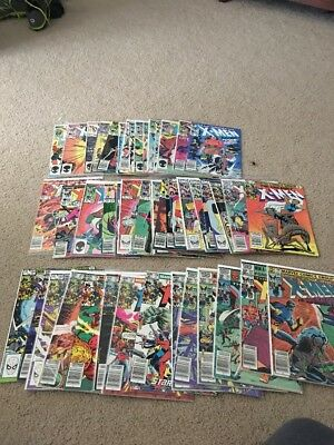 Uncanny X-Men 150-200 152 153  164  165 166 168  169 171 50 Issue Lot