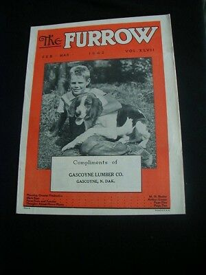 1942 John Deere The Furrow magazine 18 pages lots of tractors