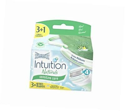 Wilkinson Intuition Sensiive Care Rasierklingen Sensitive Sword Naturals Aloe Ve