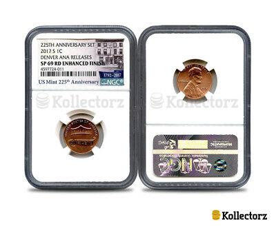 2017 S LINCOLN .1c  NGC SP69 225TH ENHANCED FINISH DENVER ANA RELEASES