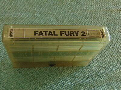 Fatal Fury 2 / Loose - Only Cart / Original Neogeo Mvs 627 - 91
