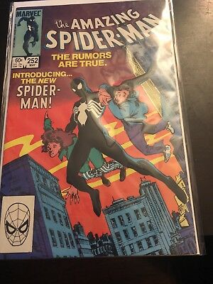 Amazing Spiderman #252 Black Suit Spider-Man