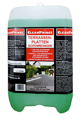 Terrace Boards Patio - Ever Clean 5 Liter for Impregnated Stones Plaster Yard