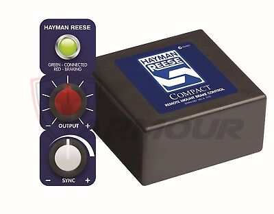 Electric Brake Controller Hayman Reese Compact Remote Head 12V Trailer 05550