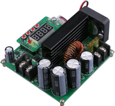 1X BST900W CNC Boost Converter DC-DC 8-60V Step-up 10-120V Solar Charging CV CC