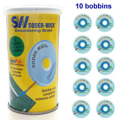 10pcs US SODER-SW18035 Desoldering Braid line anti-static soldering Solder Wire