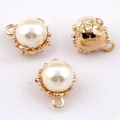 Charms Imitation pearl Pendant Beads DIY Bracelet Necklace Earring Making 1040H