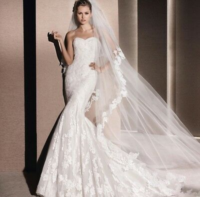 Mildred Pronovias mullet  Wedding Dress 12 new with tags £1750