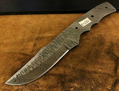 HANDMADE PATTERN WELDED Damascus Steel Blade BlankKnife Making Adorable Pattern Welded Steel