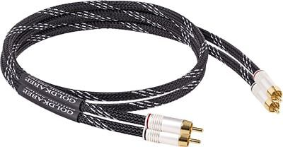 Goldkabel Edition Series Cinch Stereo 1m