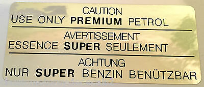 Yamaha Rd250Lc Rd350Lc Ypvs Tzr250 Rd500Lc Petrol Tank Caution Warning Decal