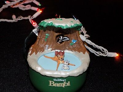HALLMARK KEEPSAKE ORNAMENT BAMBI DISCOVERS WINTER Walt Disney MOTION