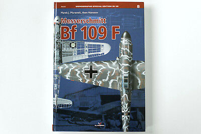 Kagero Monographs Special Edition in 3D No. 08 Messerschmitt Bf 109 F