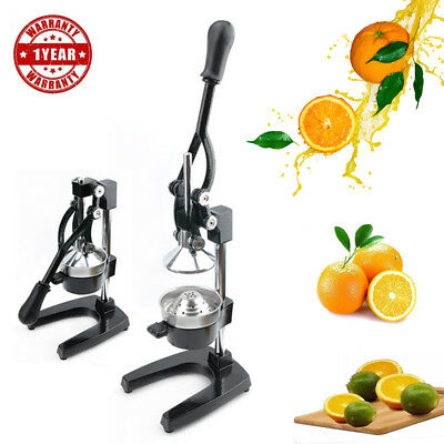 Hand Press Commercial Home Pro Manual Citrus Fruit Orange Juicer Juice Squeezer