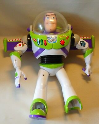 Disney Pixar Toy Story Buzz Lightyear Action Figur Elektronisch Sprache Englisch