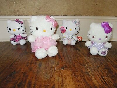 Hello Kitty plush - lot of 4