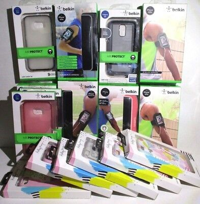 Job lot of 17 New Phone cases Arm bands iphone/Samsung Belkin/Ashley Mary 6/6s/7