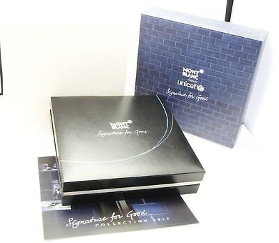 Montblanc Meisterstück UNICEF Signature for Good EMPTY BOX ONLY, no pen