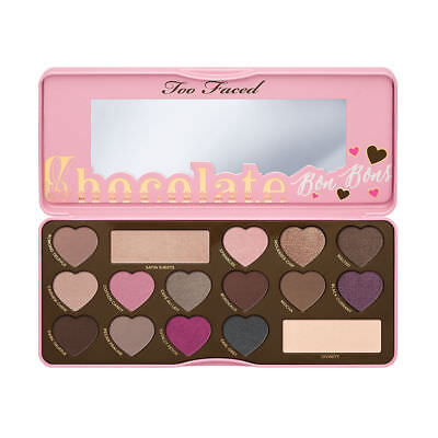 Too Faced Chocolate Bar, Semi Sweet, Bon Bons, Sweet Peach Eye shadow Palette*UK