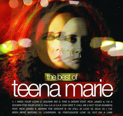 Best Of Teena Marie Mixtape DJ Compilation Mix CD Old School Lovers