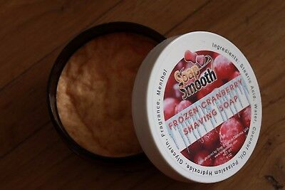 Savon à Raser Soap Smooth Frozen Cranberry USED Shaving soap Rasage Barbe