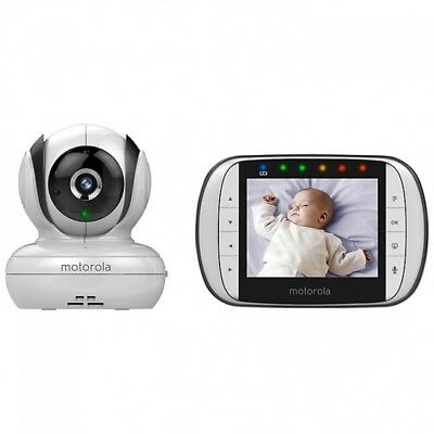 Motorola Mbp36S Video Baby Monitor 3.5Inch Lcd Pan - Warehouse Clearance