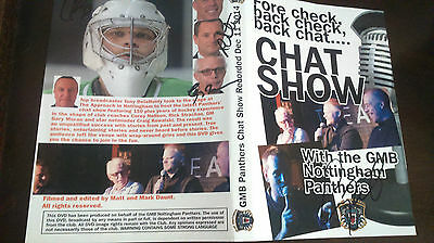 Gmb Nottingham Panthers Dvd Chat Show 2014 - Signed