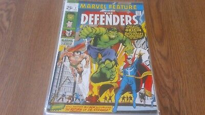 Marvel Feature #1 (1971). First Appearance of The Defenders. Hulk Marvel Comics
