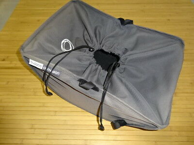 Genuine BUGABOO Cameleon SHOPPING BASKET Charcoal/Grey fits Gecko Frog chassis