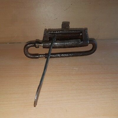 41# Old Rare Antique Islamic Yemeni Iron Lock Hand Made